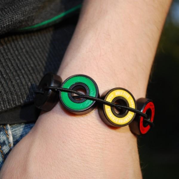 Rasta Bearing Bracelet