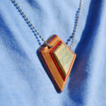 Shield Pendant Necklace