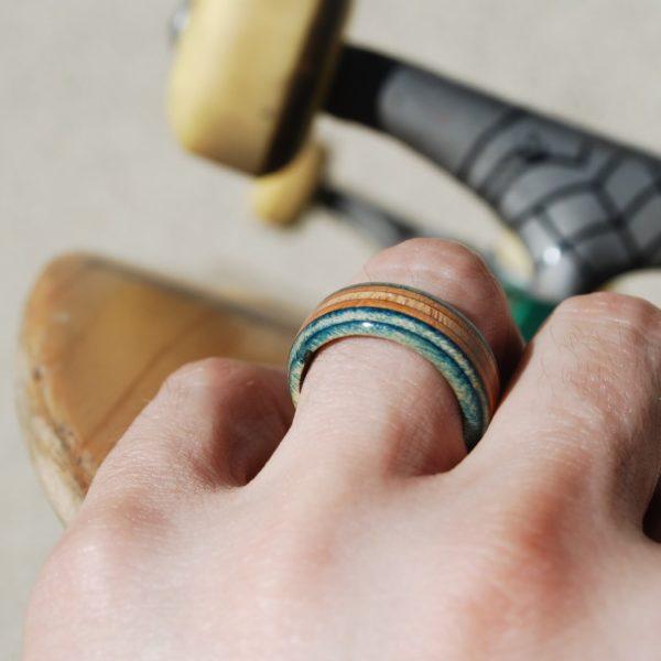 recycled, skate, ring, skateboard