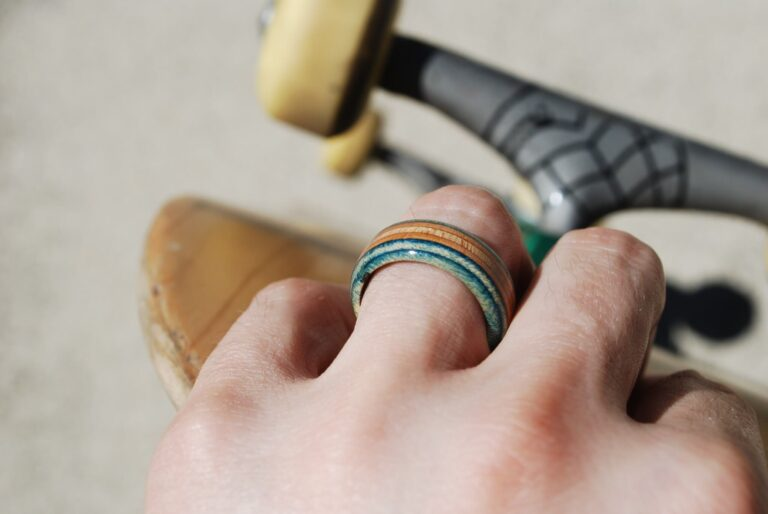 recycled, skate, ring, skateboard