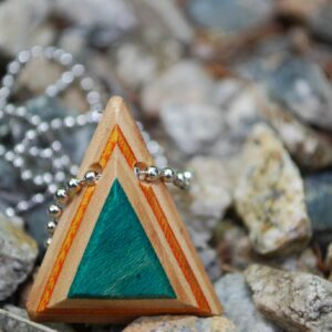 Triangle Pendant Chain Necklace