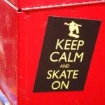 fridge magnet, skateboarding, magnet