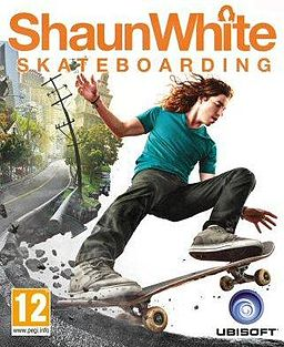 shaun white, skateboarding, video game
