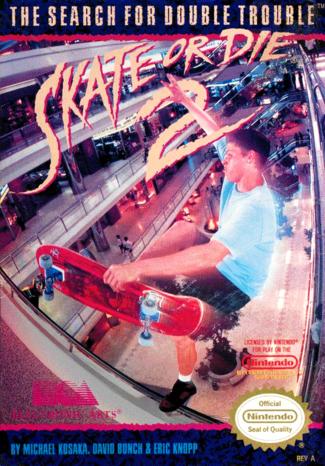 skate or die, skateboarding, video games