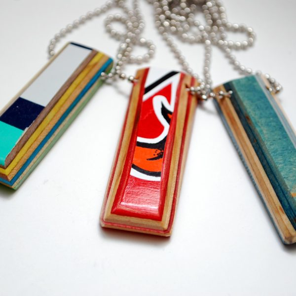 recycled skateboards, rings, gifts, boyfriend, girlfriend