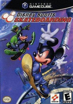 skateboarding, disney, gamecube