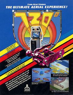 720 skateboarding, arcade game, atari games, video game