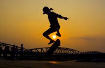 heelflip, skateboard, skate, trick