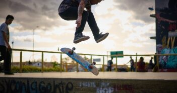 laser flip, skateboard, trick, skate