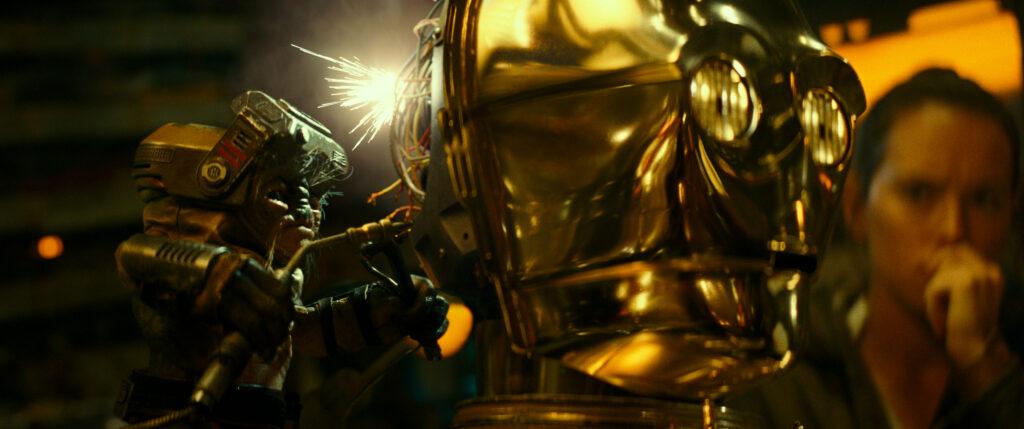 babu frik, c-3PO, rise of skywalker, movie review, star wars
