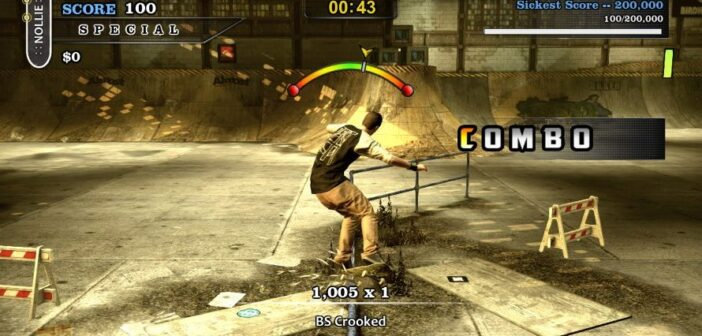 skateboard games, tony hawk