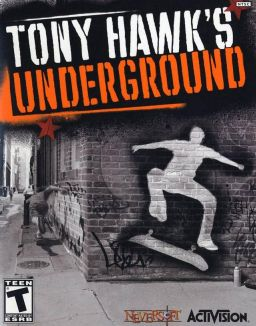 tony hawk, underground, video game