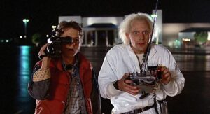 back to the future, marty, doc