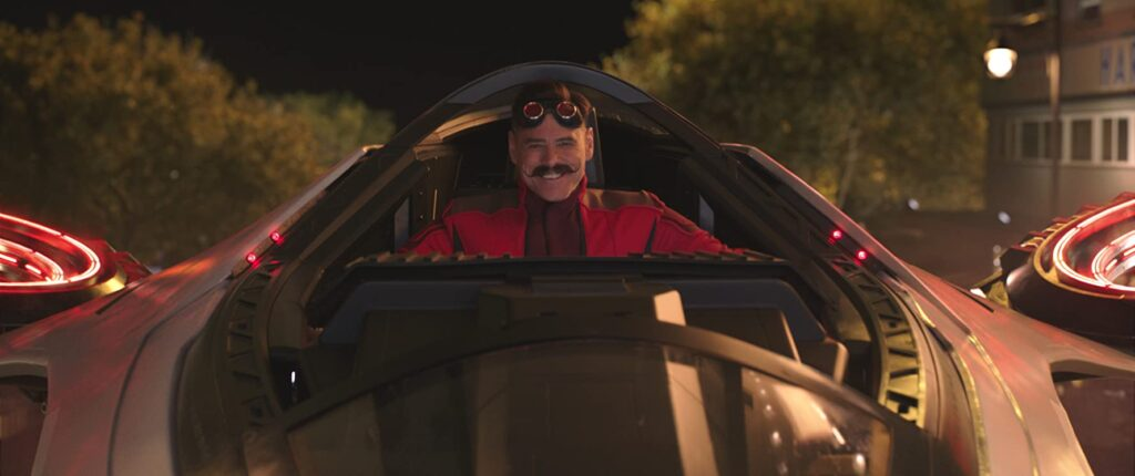 dr. robotnik, jim carrey, sonic, hedgehog, movie, review