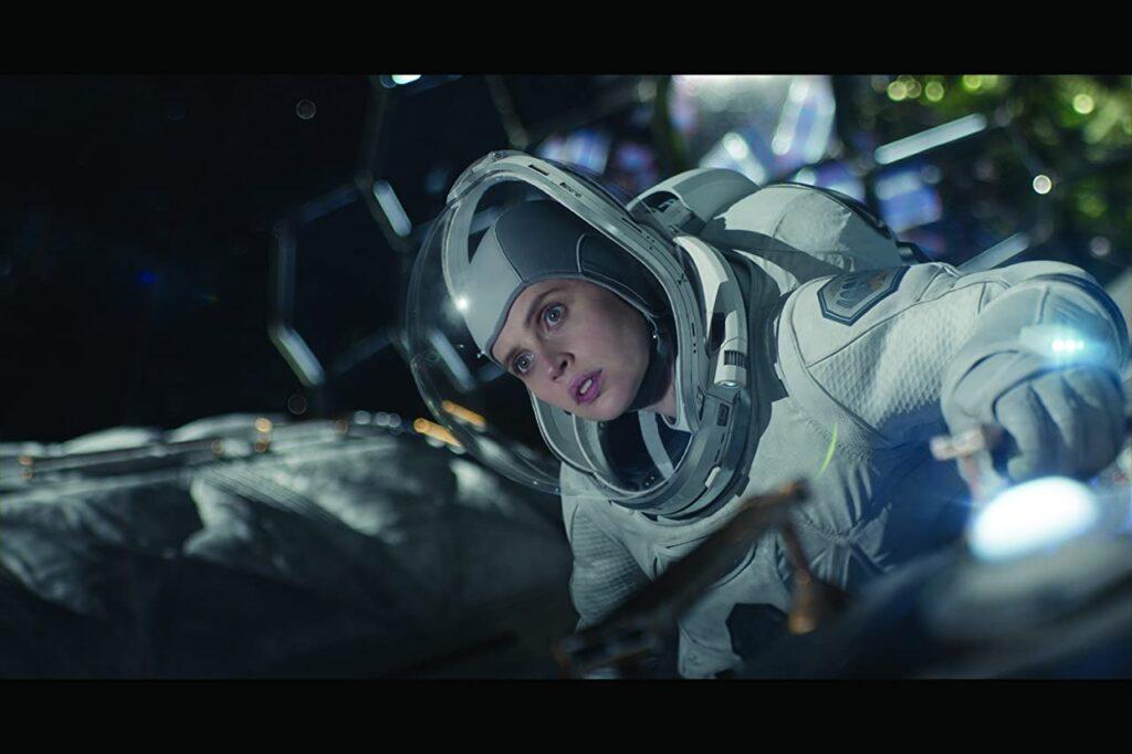 felicity jones, midnight sky, movie, review